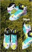 Sea  Monster Sneaker by Bobsmade