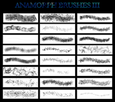 Anamorph Brushes III by Ronnan