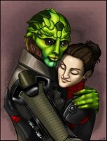 Amor extraterrestre 2 by IRIDION22