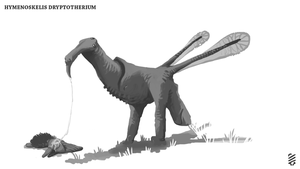 Hymenoskelis Dryptotherium by Purple-Plasmid