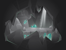 Cave by MisterISK