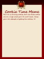 AoH: Cookie Time Meme blank by HavensGoneMad