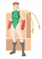 Fan-Art Cammy - Street Fighter V by RodriguesLucasF