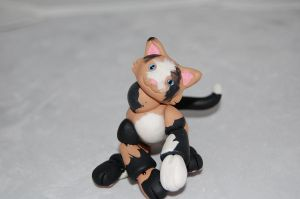 OOAK Calico Kitty BJD by clarinetplayer
