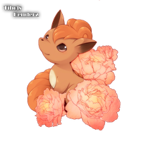 Vulpix Render by TibolsS