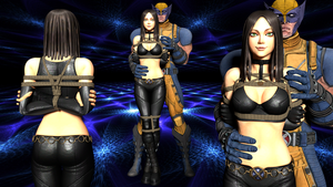 X-23 and Wolverine by 4wearemanytoo