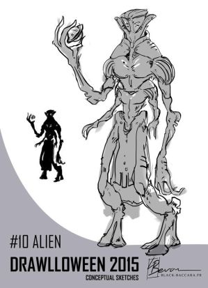DH10 alien by laurabevon by LauraBevon