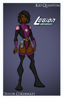 Kid Quantum - Legion of Super-Heroes by Femmes-Fatales
