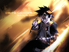 Obito Uchiha by k11n