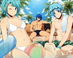 The Blue Summer by Suihara