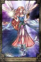 Tarot: The High Priestess by kym