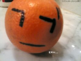 just an orange. by wrong-number