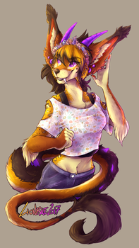 Comm - Erika by TheLionMedal