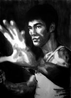 Bruce Lee by fourone213