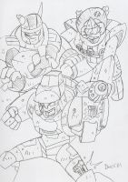 TFProject: Autobots, Kick His Aft by BlueIke