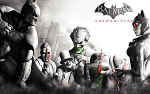 Batman Arkham City Wallpaper by OutlawNinja