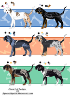 Catahoula pups_Batch 2 CLOSED by Aquene-lupetta