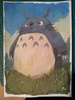 Totoro by EdwardDelandreArt