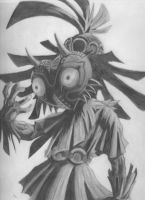 Skull Kid by TheyCallMeDragon