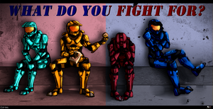 ::What Do You Fight For?:: by RabidK-9