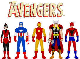 The Avengers Classic by MetalLion1888