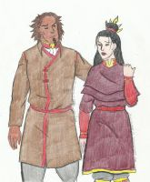 Bumi and Wife (?) by Plot-Theorist
