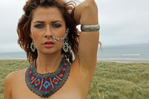 Anuit on her location shoot in Co Wexford,  III by macpat