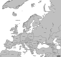 Europe and borderlines by AY-Deezy