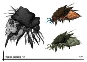plague scarabs by Parkhurst