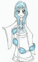 Gift - Chibi Yuki-Onna by whisperimaginary