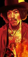 Jimmy Hendrix commission by Miss-Von-Gore