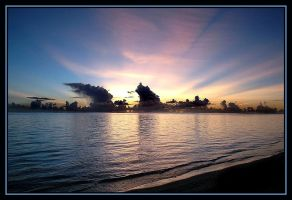 Saipan Sunset by alionic