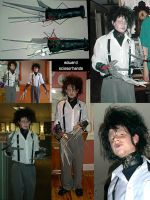 Edward Scissorhands costume by GlamourBoy