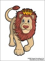 Cowardly Lion by justicefrog