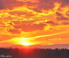 Sky Fire II by Brian-B-Photography