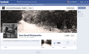 Facebook Page by seanie1422