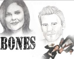 Bones Wallpaper by Lovegreen13