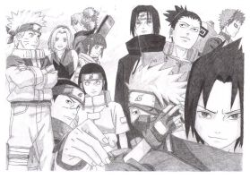 BEHOLD,NARUTO_ARMY by justMelody