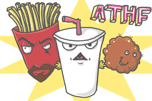 Aqua Teen Hunger Force by oober-zombie