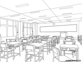 classroom by coldenic