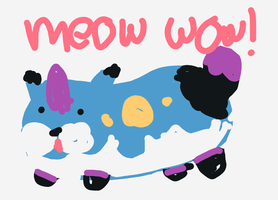 meow wow by WanNyan