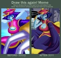 Draw This Again Meme by KeyWithoutATone