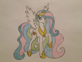Princess Celestia by TayTerrTot