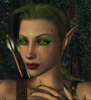 Green Elf by Leanny