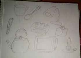 College Dump: Object study 2 by ThrowingShadows