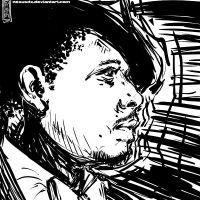 Terrence Howard Drawing by NexusDX