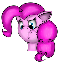 Angry Pinkie by iSmellMusic