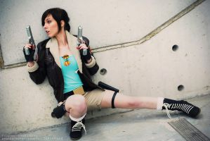 Tomb Raider II - Lara Croft - Ready for action! by HelloKot