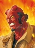 Hellboy by EnricoGalli
