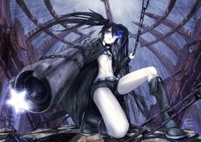 BLACK ROCK SHOOTER by crazypencheng